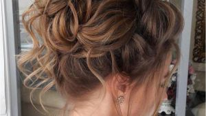 Juda Hairstyle for Thin Hair Messy Curly Bun for Thin Hair Thin Hairstyles In 2018