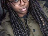 Jumbo Box Braid Hairstyles Jumbo Box Braids ♀ Natural Hair Stuff Pinterest