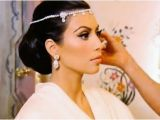 Kim Kardashian Wedding Hairstyle Estilo Moda Wedding Blog Bespoke Bridal Fashion for the