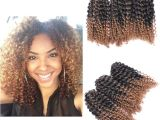 "Kiss Braids Hairstyles Crochet Styles Hair Inspirational 8"" Ombre Afro Kinky Curly Crochet"