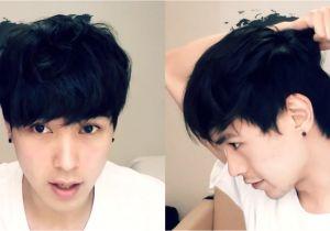 Korean Boy Hair Hairstyle Korean Hair Tutorial