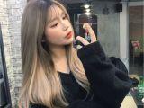 Korean Girl Long Hair Her Hair is ♥ A In 2018 Pinterest