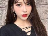 Korean Haircut with Bangs 124 Best Korean Hairstyle Images