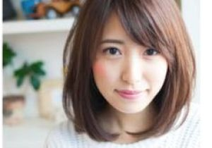 Korean Ladies Hairstyle Medium Length Hairstyles for Teenage Girls with Round Faces