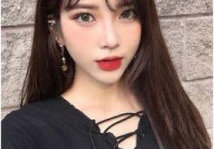 Korean Long Hair with Bangs 124 Best Korean Hairstyle Images