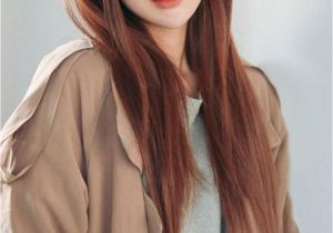 Korean Long Straight Hairstyles Korean Hairstyle for Girls Unique Cute Korean Straight Hairstyles