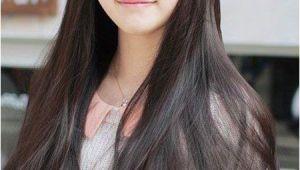 Korean Long Straight Hairstyles Pin by Khea Khe On Korean Hair Style In 2018 Pinterest