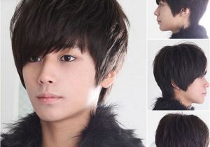 Korean Men Hairstyle Catalogue Fashion Cool Boys Korean Hair Wig Mens Male Short Hair