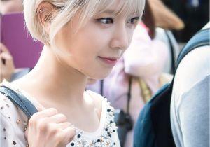 Korean Short Hairstyle for Girl Aoa Choa Aoa In 2018 Pinterest
