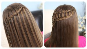 Ladder Braid Cute Girl Hairstyles Hairstyles Cute Girl Hairstyles Waterfall Braid & Ladder Braid