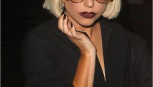 Lady Gaga Bob Haircut Lady Gaga Bob Short Hairstyles Lookbook Stylebistro
