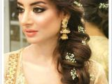 Latest Hairstyles for Indian Weddings Latest Pakistani Bridal Wedding Hairstyles Trends 2018