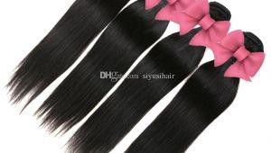 Latest Weave Hairstyles In Zimbabwe Großhandel Peruanisches Straight Hair Mit Closure 3 4 Bundles Human