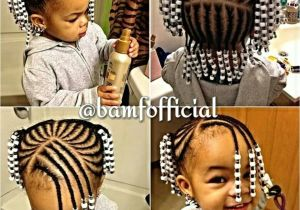 Lil Girl Braided Hairstyles with Beads Braids and Beads Kid S Hair too Pinterest