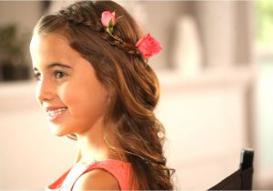 Lil Girl Hairstyles for Wedding Flower Girl Hairstyles