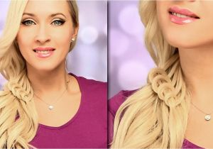 Lilith Moon Easy Hairstyles Braided Hairstyle for Everyday Cute and Easy Side Swept