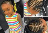 Little Black Girl Cornrow Hairstyles Kids Braided Ponytail Naturalista Pinterest