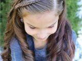 Little Girl Hairstyles Half Up Peinados Kid Hair Styles Pinterest
