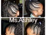 Little Girl Hairstyles with Ponytails Little Girl Cornrow Twist Ponytail Hairstyle