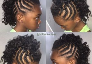 Little Girl Mohawk Hairstyles Cornrow Mohawk Hairstyles Inspirational Mohawk