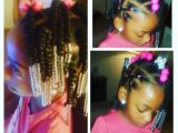 Little Girl Ponytail Hairstyles African American Simple Hair Styles for Little Black Girls Braids Beads and