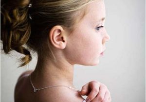 Little Girls Hairstyles for Weddings Hairstyles for Flower Girls with Tiara