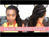 Loc Hairstyles On Youtube Loc Hairstyle Tutorial Rope Twist Pigtails & Laid Edges