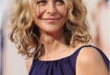 Long Bob Haircuts for Curly Hair Feminine soft Wavy Curly Long Bob Hairstyle Meg Ryan