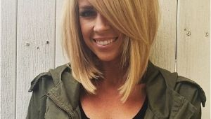 Long Bob Haircuts with Side Bangs the Full Stack 30 Hottest Stacked Haircuts