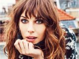 Long Curly Bob Haircut Long Bob Haircut with Side Swept Bangs Hollywood Ficial