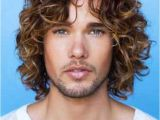Long Curly Hairstyles Male 20 Guys with Long Curly Hair