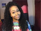 Long Curly Quick Weave Hairstyles Half Quick Weave Hairstyles