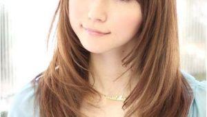 Long Hair with Bangs Korean Este Peinado Para Ale Clothes Pinterest