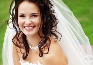 Long Hair with Veils Wedding Hairstyles Spring Wedding Hairstyles for Long Hair with Veil and