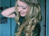Long Hairstyles with Curls and Braids Long Curly Hairstyles with Braids Popular Haircuts