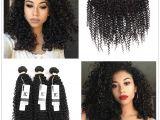 Long Weave Hairstyles In Zimbabwe Großhandel Hc Brasilianische Lockige Reine Menschenhaar 13 4 Ohr