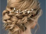 Loose Braided Bridal Hairstyles Beautiful Loose Braided Updos Bridal Hairstyle Perfect for