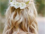 Loose Braided Bridal Hairstyles Wedding Hairstyles 15 Fab Ways to Wear Flowers In Your