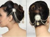 Low Bun Hairstyles for Indian Weddings Indian Bridal Hairstyles Low Bun Google Search