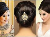 Low Bun Hairstyles for Indian Weddings Wedding Hairstyles Beautiful Low Bun Hairstyles for