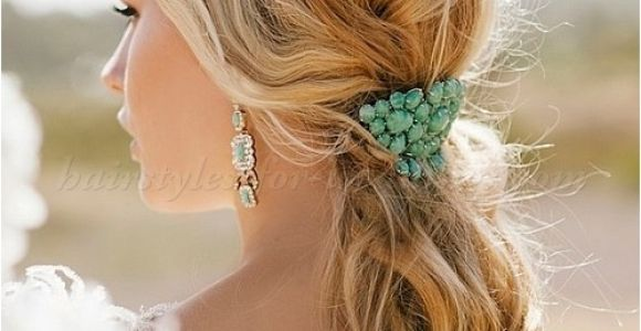 Low Ponytail Wedding Hairstyles Ponytail Hairstyles Low Ponytail Wedding Hairstyle