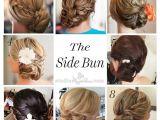 Low Side Bun Hairstyles for Weddings Wedding Hairstyles Low Side Bun Images