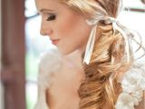 Low Side Ponytail Wedding Hairstyles Low Side Pony Tail Wedding Hair Wedding