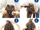 Makeupwearables Hairstyles Buns Adorable Tuxedo Braid Bun Tutorial