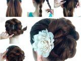 Making Easy Hairstyles Wonderful Diy Twist Double Rope Bun Hairstyle