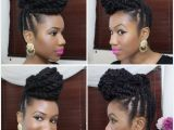 Marley Braid Bun Hairstyles Braided Updo Hairstyles Braided Updo Natural Hair Using Marley