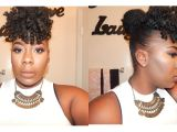 Marley Braid Bun Hairstyles Faux Bang and Bun Tutorial Marley Hair