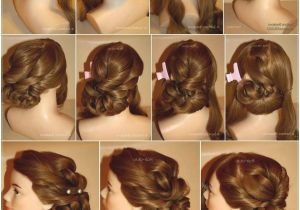 Marriage Hairstyle for Indian Girl Indian Hairstyle Step by Step Beautiful Hairstyle for Indian Wedding