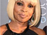 Mary J Blige Bob Haircut Mary J Blige Bob Short Hairstyles Lookbook Stylebistro