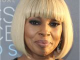 Mary J Blige Bob Haircut Mary J Blige Hairstyles In 2018